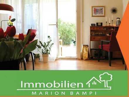 Verkauf auf Leibrente: Schöne 2-Zimmerwohnung mit Garten in Garching!
