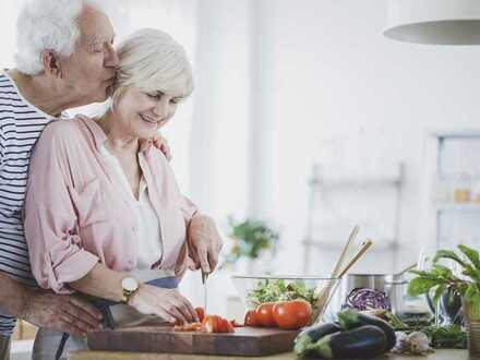 Genießen Sie Ihren Altersruhesitz. Geräumige Obergeschosswohnung als Erstbezug zu vermieten.