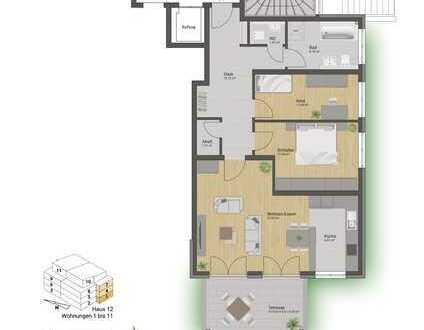 Attraktive Eigentumswohnung mit Süd-Balkon