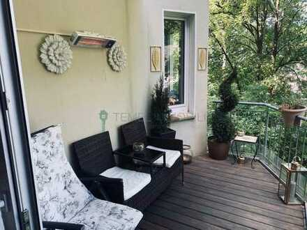 Möblierte 3-Zimmer Wohnung mit Balkon