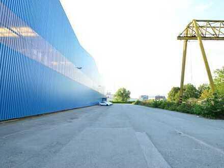*Provisionsfrei* ca. 1.800 m² befestigte FREIFLÄCHE / AUßENLAGER / PARKPLÄTZE in Hamburg-Billbrook