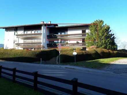 Gepflegte 2-Zimmer-Wohnung mit Süd/Ost-Balkon in Bad Wiessee/Abwinkl
