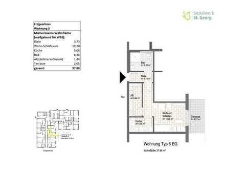 Neubauwohnung im Wohnquartier Davert (WBS) Whg. 5