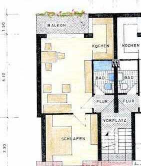 2 ZKB- Wohnung mit Balkon in zentrumsnaher Lage