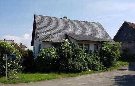 Einfamilienhaus in ruhiger ländlicher Lage auf kleinem Grundstück