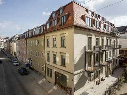 Stilvolle 3-Zimmer-DG-Maisonette mit offenem Kochen/Essen in Ludwigsvorstadt-Isarvorstadt, München