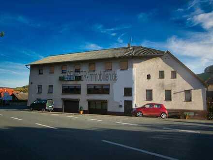 Bekannte Gaststätte und Pension in Fischbachtal Billings zu verkaufen. Vielseitige Möglichkeiten