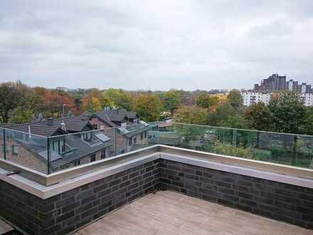 Exklusive Maisonette-Penthouse Wohnung mitten im Duisburger-Süden !!! Barrierefrei !!!