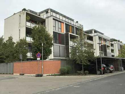 Exklusive, geräumige und neuwertige Loft2-Zimmer-Loft-Wohnung mit Balkon und Einbauküche in Erlangen