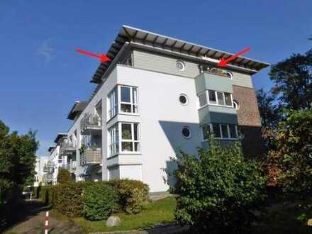 Direkt am Werdersee! Interessante 3 Zimmer Penthouse-Wohnung mit Lift und neuer Einbauküche