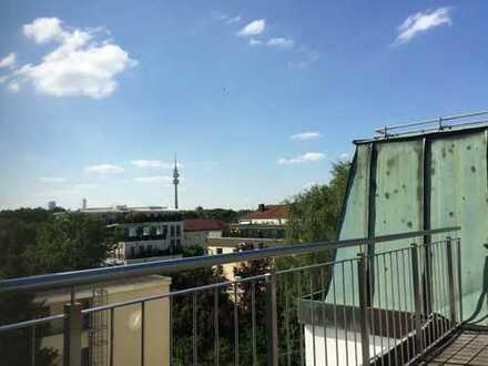 Schwabinger-Klassiker mit Sondernutzungsrecht Dachterrasse oder Wintergarten