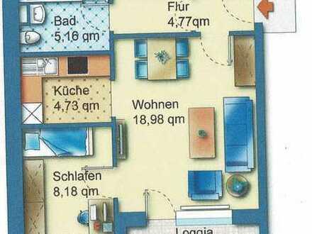 Gepflegte 2-Zimmer-Wohnung mit Balkon und EBK in Delmenhorst