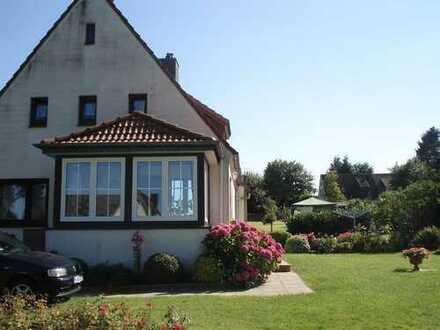 2-Zimmer-EG-Wohnung im Einzelhaus mit Garten in Hansühn