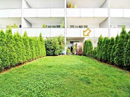 Moderne 2-Zimmer-Wohnung mit Süd-Terrasse und 65 m² eigenem Garten