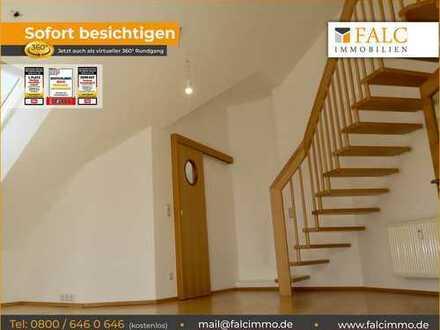 Mehr-Geht-Nicht-Galerie-Maisonette-ETW, Süd-Balkon, Tiefgarage. Bezugsfrei. 93077 Bad Abbach.