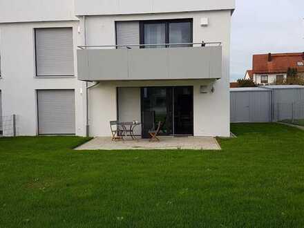 Exklusive, neuwertige 3-Zimmer-EG-Wohnung mit Terrasse, Garten und Einbauküche in Pfaffenhofen