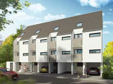 VORANZEIGE: Neubau: 4 Zi., 4 Balkone, Terrasse, Garten, Stellplatz