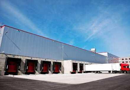 PROVISIONSFREI: ca. 15.000 qm Neubau Lager   Rampe + ebenerdig   ca. 10,50 m UKB !