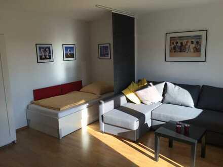 möblierte 1-Zimmerwohnung mit Internet, TV, Küche, Dusche/Wc und Balkon