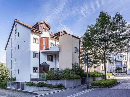 Große 5-Zi.-Maisonette-Wohnung mit Ausblick auf den Tüllinger in Lö-Stetten - nur 100 m zur Grenze