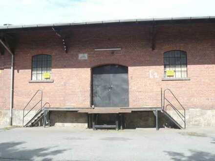 Lagerfläche auch Halle für Spedition, Handel, u.ä. - auch für Anlieferung großer LKW, Sattelzüge