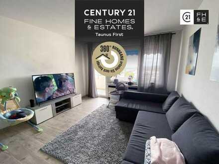 MEHR BLICK GEHT NICHT 2-Zimmer Wohnung mit Balkon, vermietet, Stellplatz, Maintal-Bischofsheim