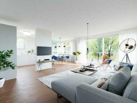 Vier gewinnt: attraktive 4-Zimmer-Neubau-Etagenwohnung in toller Lage