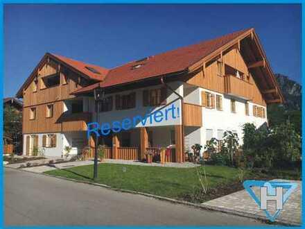 Neubauwohnung mit Schlossblick in zentraler Lage von Schwangau