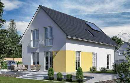 Lorsch-Stadthaus-freistehend-Neubau (5 Zimmer) mit Grundstück in Zentrumsnähe