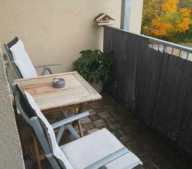 3,5-Zimmer-Maisonette-Wohnung mit Balkon und Einbauküche in Plauen