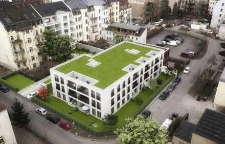 """""""Gö16"""" DD-Neustadt - schön geschnittene 4 RWG mit Terrasse im Dachgeschoss verkaufen"""