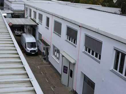 Produktionshalle mit Büros und Showroom