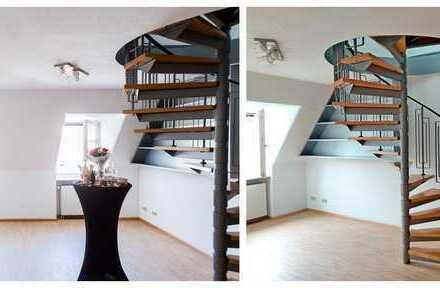Traumhafte 2-Zimmer-Maisonette-Wohnung mit EBK in Herdern