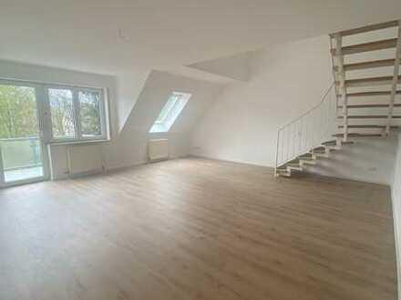 Erstbezug nach Sanierung: Schöne 4-Zimmer-Maisonette-Wohnung mit Balkon Mannheim-Wallstadt