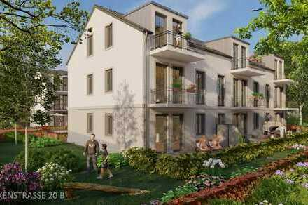 NEUBAU Potsdam Bornim 2-Zimmer-DG-Whg mit Balkon ins Grüne