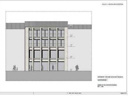 Einzelhandel-,Büro- oder Praxisräume zu vermieten in noch zu planender Immobilie