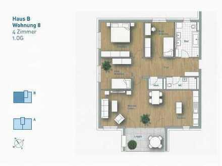 4,5-Zimmer-Wohnung - Wohnung 8 im 1.OG