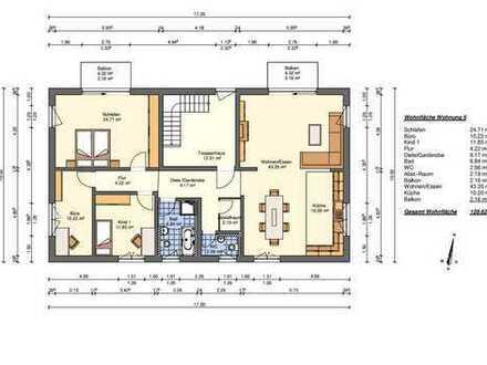 4-Zimmer-Wohnung im 2. Obergeschoss