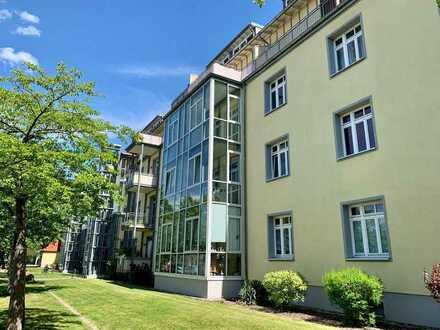Großzügig geschnittene 2-Zimmer Eigentumswohnung in Potsdam-Bornstedt mit TG-Stellplatz