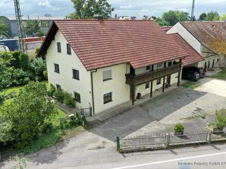 Vermietetes Zweifamilienhaus in Sünching