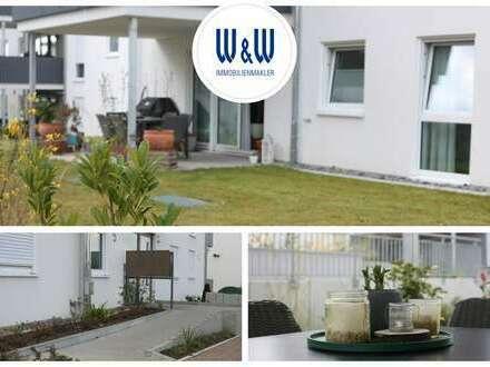 Bestlage in ÖHRINGEN | Moderne 4 Zimmer-Gartenwohnung mit Terrasse, EBK & 2 TG-Stellplätze