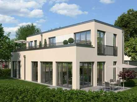Modernes Einfamilienhaus mit ansprechender Architektur in familienfreundlicher Lage!