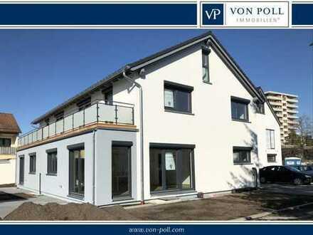 Kieferngarten: Neubau Doppelhaushälfte im Erstbezug mit Galerie