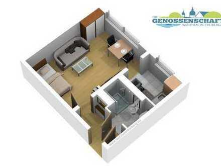 1 Raumwohnung - 24 m² - EG - NEU SANIERT