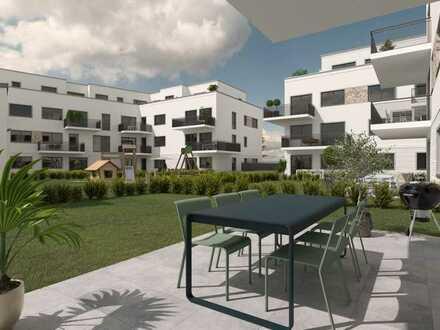 4 Zimmer Wohnung mit 2 Bädern und Balkon