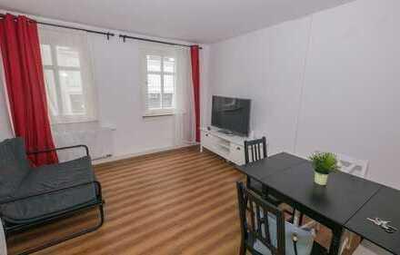 NEU renovierte u. teilmöblierte 4-Zimmer-Wohnung im Zentrum von Coburg!