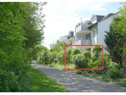 """Schöne 2,5 Zimmer-Whg. im EG mit """"Blick ins Grüne"""""""