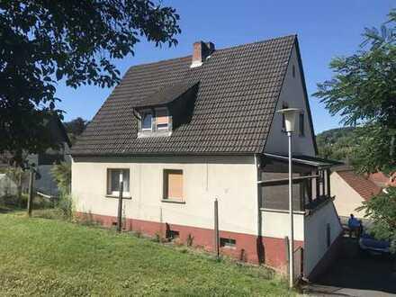 Schönes 1-Fam. Haus mit toller Aussicht in Mömbris zu verkaufen