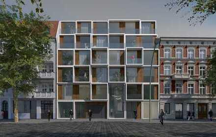 4-Zimmer-Wohnung ebenerdig mit 2 Terrassen im Neubauensemble NEUE FLORAHÖFE