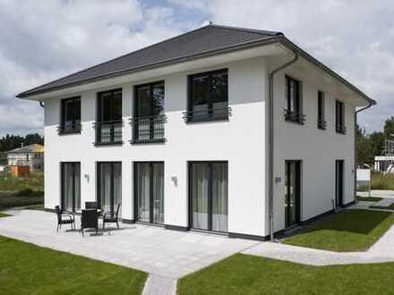 ALL INCLUSIVE: Topmoderne Villa, super Grundstück und Baunebenkosten - komplett eizugsfertig